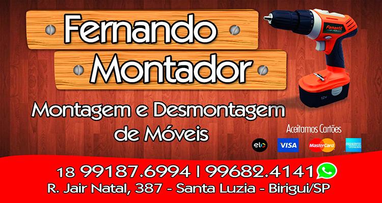 Logo Fernando Montador