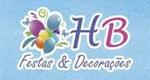 Logo HB Festas e Decorações