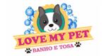 Logo Love My Pet Banho e Tosa