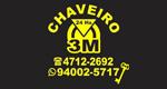 Logo Chaveiro 3M - 24 Horas