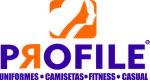 Logo Profile Uniformes Personalizados, Fitness e Casual