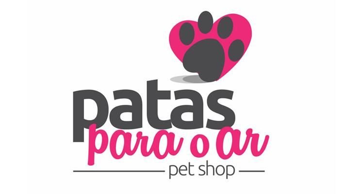 Logo Patas para o Ar Pet Shop