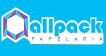 Logo Allpack Papelaria