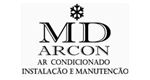 Logo MD ARCON - Ar Condicionado
