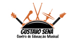Logo Gustavo Sena - Escola de Música