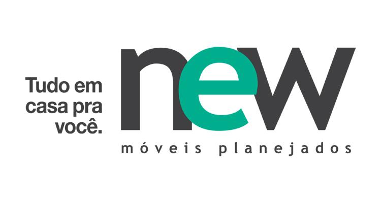 Logo New Móveis Planejados