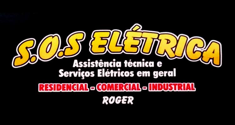 Logo S.O.S Elétrica e Serviços
