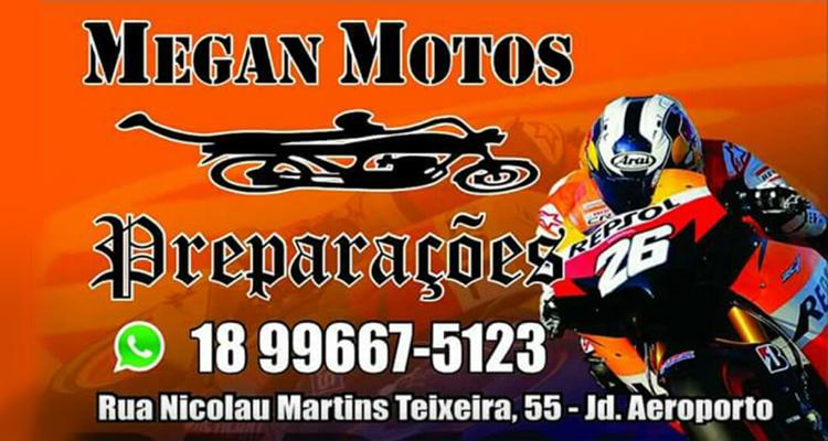 Logo Megan Motos Preparações