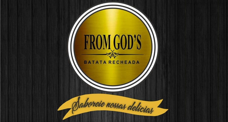 Logo From God's Batata Recheada Delivery