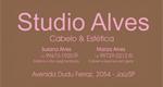 Logo Studio Alves Cabelo & Estética