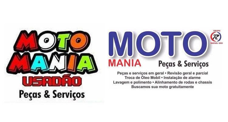 Logo Moto Mania Peças, Serviços, Consignação & Vendas