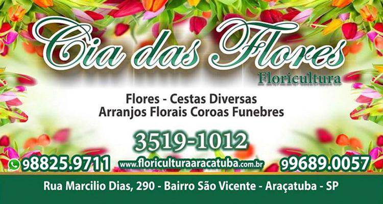 Logo Cia das Flores