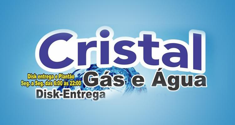 Logo Cristal Gás e Água