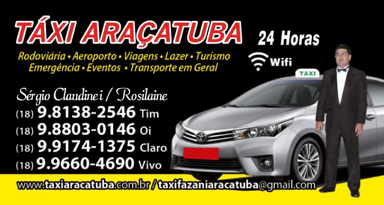 Logo Táxi Araçatuba