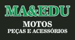 Logo Ma & Eduardo Motos, Peças e Acessórios
