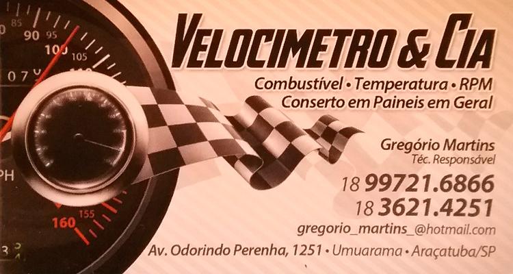 Logo Velocímetro & Cia