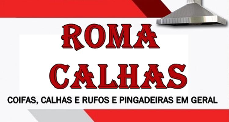 Logo Roma Calhas Rufos & Pingadeiras em Geral
