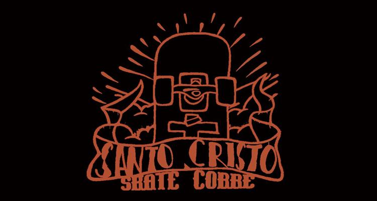 Logo Santo Cristo Skate Corre