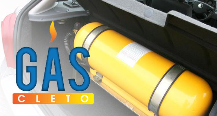 Logo Cleto Gás