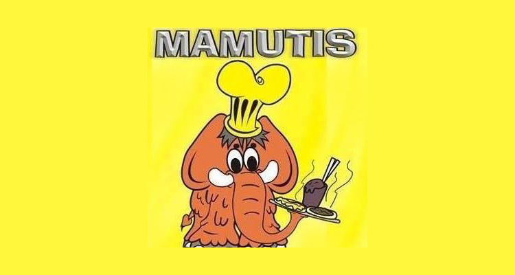 Logo Mamutis Pizzaria e Esfiharia