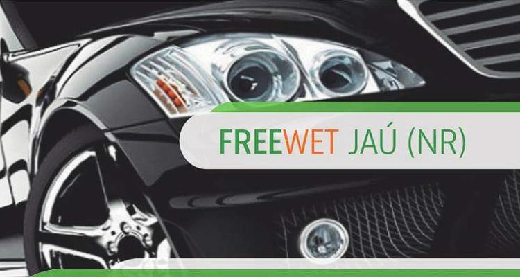 Logo FreeWet Lavagem e Proteção Automotiva