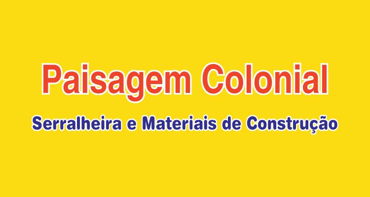 Logo Paisagem Colonial Serralheira e Materiais  de Construção
