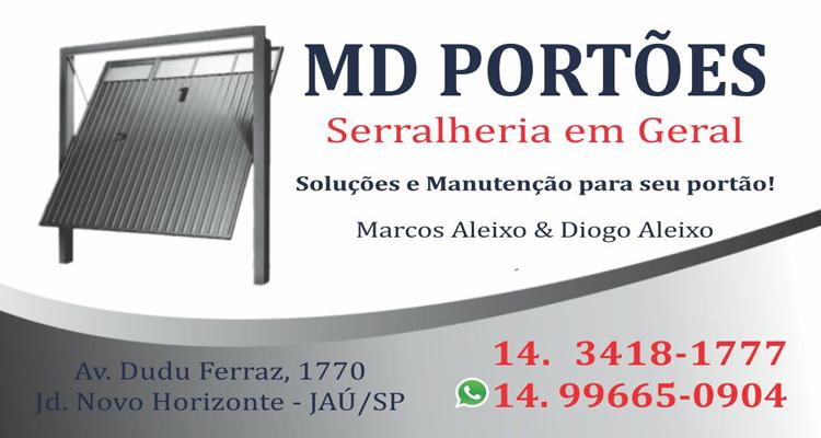 Logo MD Portões