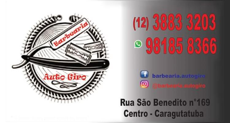 Logo Barbearia Auto Giro