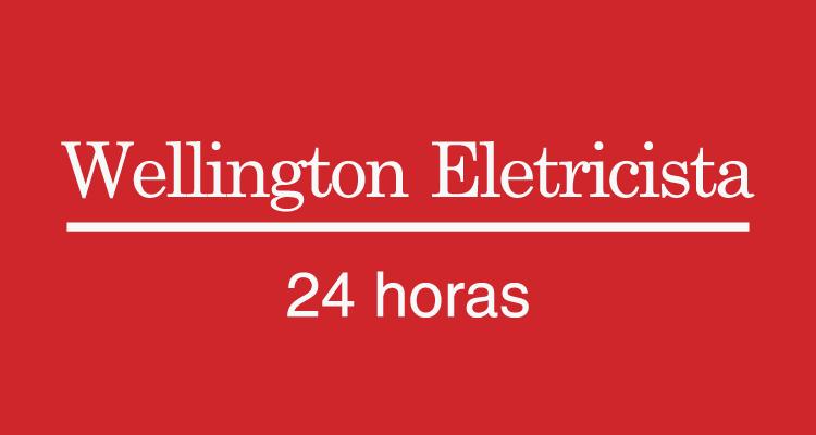 Logo Wellington Eletricista 24 horas
