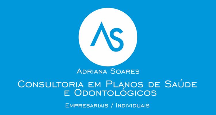 Logo Adriana Soares Consultora de Planos de Saúde e Odontológico