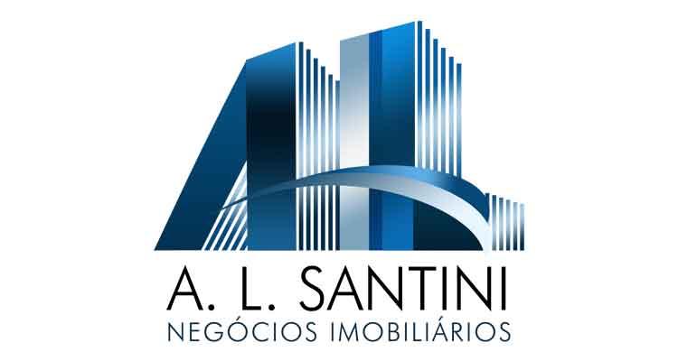 Logo A. L. Santini Negócios Imobiliários