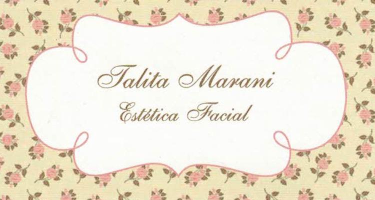 Logo Talita Marani Estética Facial