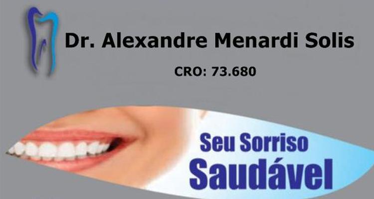 Logo Dr. Alexandre Menardi Solis - CRO 73.680