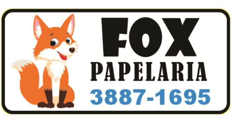 Logo Fox Papelaria