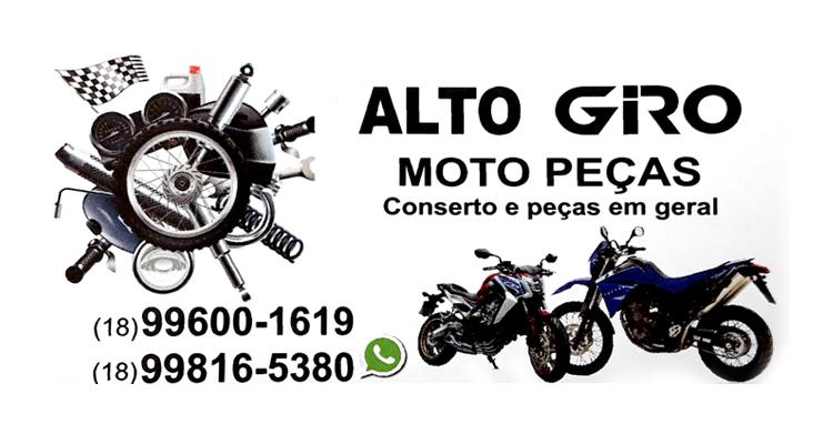 Logo Alto Giro - Moto Peças