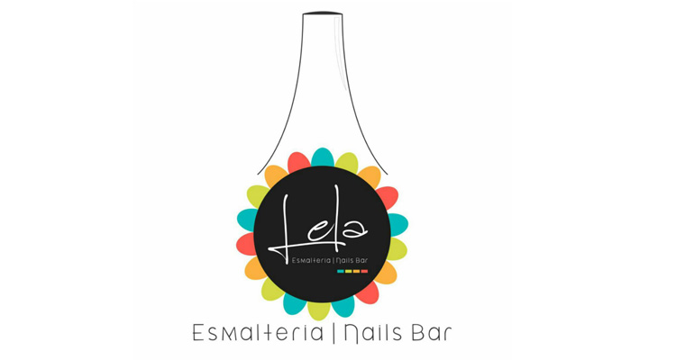 Logo Lela Esmalteria e Nails Bar
