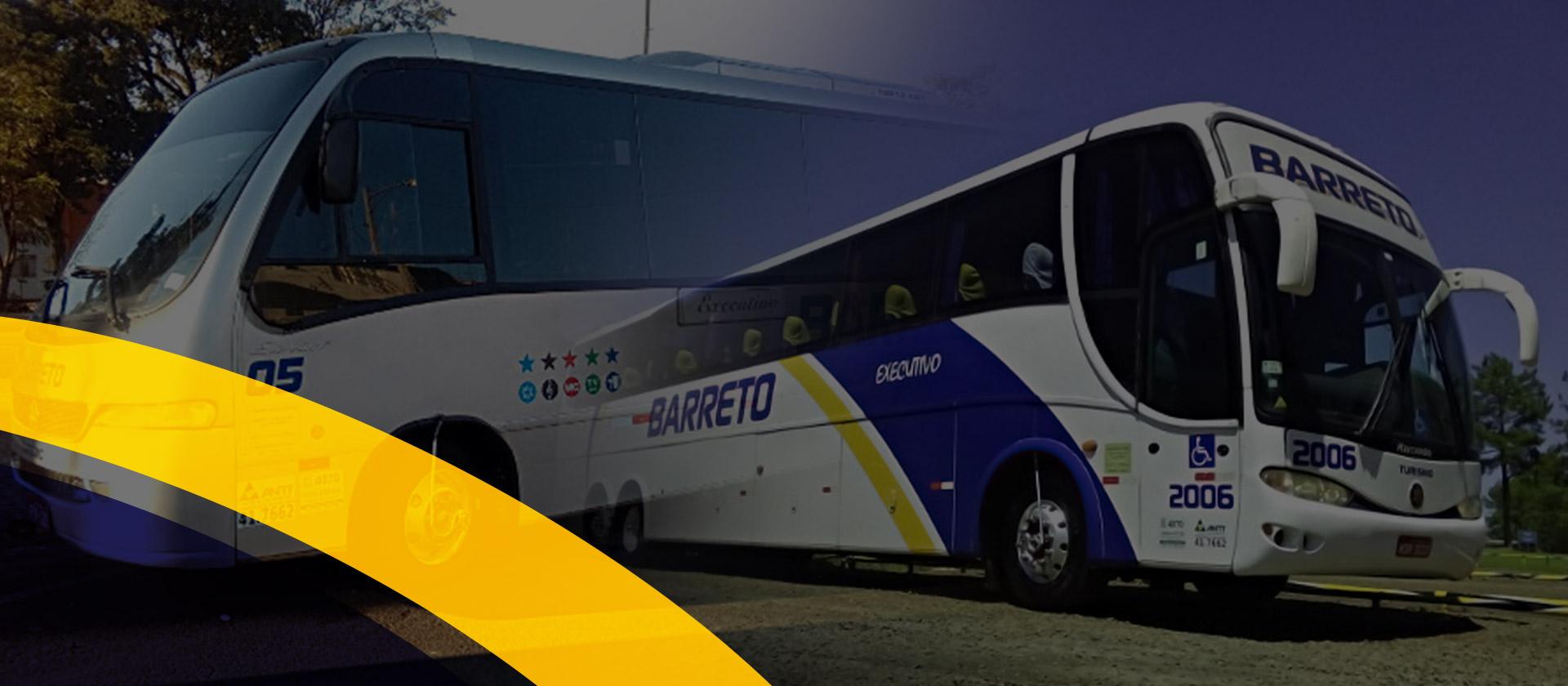 Ônibus e Vans de turismo, fretamento, feiras e eventos.