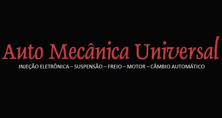 Logo Auto Mecânica Universal