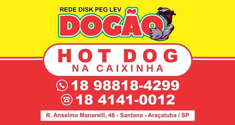 Logo Rede Disk Peg Lev Dogão - Santana