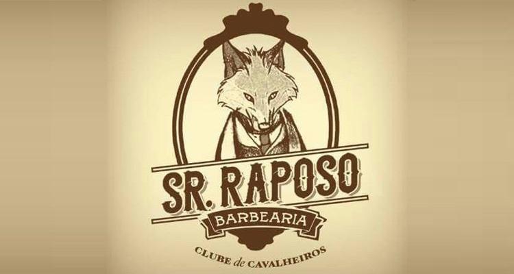 Logo Sr. Raposo Barbearia