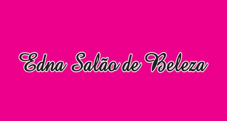 Logo Salão Edna Cabeleireira