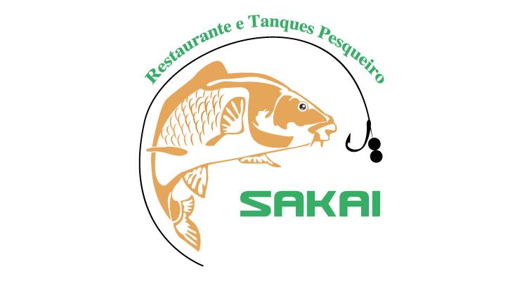 Logo Restaurante e Tanques Pesqueiro Sakai