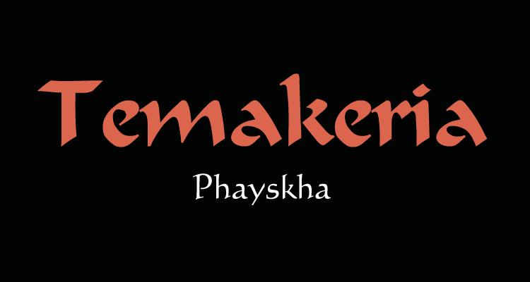 Logo Temakeria Phayskha