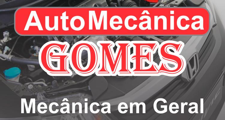 Logo Auto Mecânica Gomes