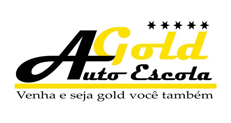 Logo Auto Escola Gold