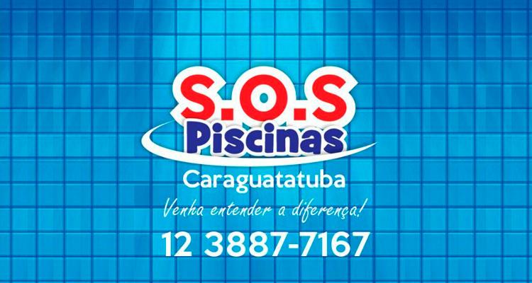 Logo S.O.S Piscinas Caraguatatuba