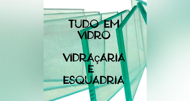 Logo Tudo em Vidro Vidraçaria e Esquadria