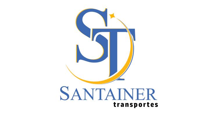 Logo ST Santainer Transporte, Fretamento e Turismo