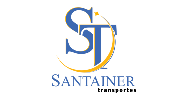 Logo ST Santainer Transporte e Turismo