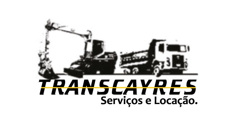 Logo Transcayres Seviços e Locação